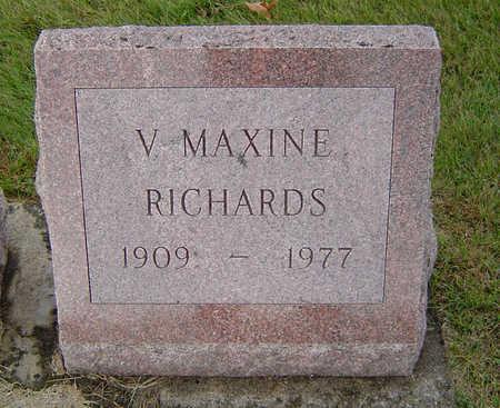 RICHARDS, VANITA MAXINE - Delaware County, Iowa | VANITA MAXINE RICHARDS