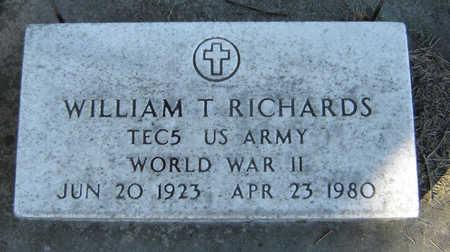 RICHARDS, WILLIAM T. - Delaware County, Iowa | WILLIAM T. RICHARDS