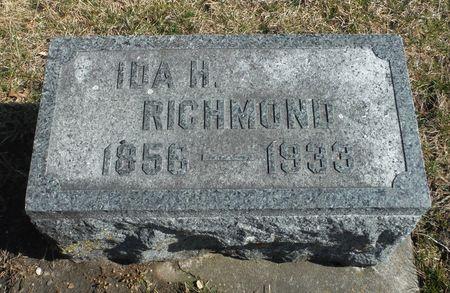 RICHMOND, IDA H. - Delaware County, Iowa   IDA H. RICHMOND