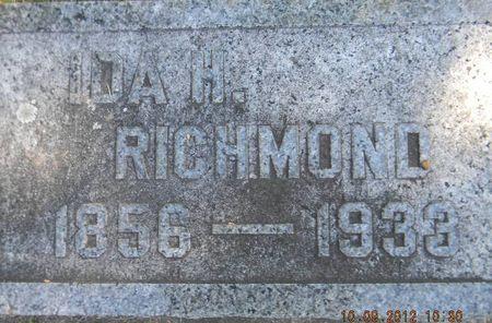 RICHMOND, IDA H. - Delaware County, Iowa | IDA H. RICHMOND