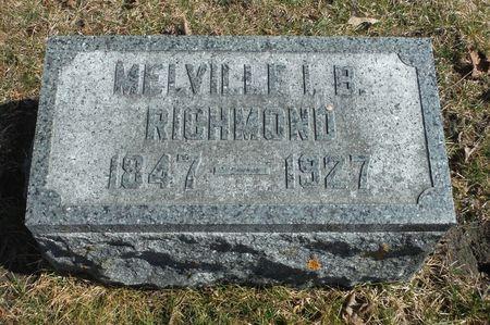 RICHMOND, MELVIN IRVING B. - Delaware County, Iowa | MELVIN IRVING B. RICHMOND