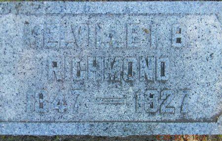 RICHMOND, MELVILLE IRVING BROOKS - Delaware County, Iowa | MELVILLE IRVING BROOKS RICHMOND