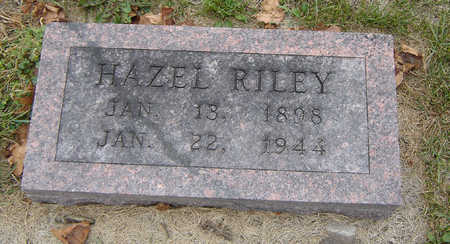 RILEY, HAZEL - Delaware County, Iowa | HAZEL RILEY