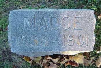 ROBBINS, MADGE - Delaware County, Iowa | MADGE ROBBINS