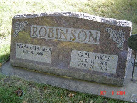 ROBINSON, CARL JAMES - Delaware County, Iowa   CARL JAMES ROBINSON