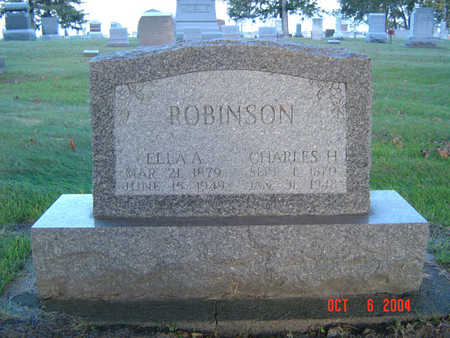 ROBINSON, CHARLES H. - Delaware County, Iowa | CHARLES H. ROBINSON