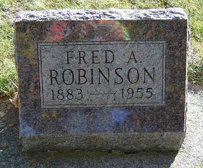 ROBINSON, FRED A. - Delaware County, Iowa | FRED A. ROBINSON
