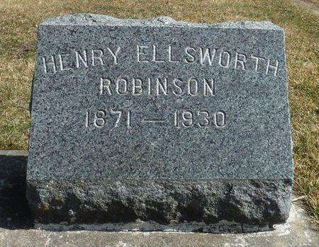 ROBINSON, HENRY ELLSWORTH - Delaware County, Iowa | HENRY ELLSWORTH ROBINSON