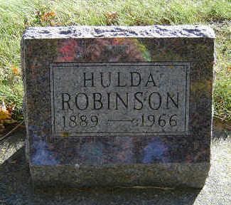 ROBINSON, HULDA - Delaware County, Iowa | HULDA ROBINSON