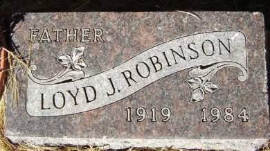 ROBINSON, LOYD J. - Delaware County, Iowa | LOYD J. ROBINSON