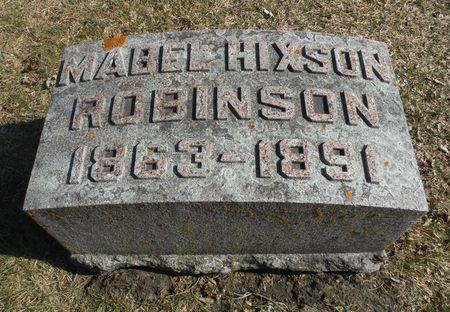 ROBINSON, MABEL - Delaware County, Iowa   MABEL ROBINSON