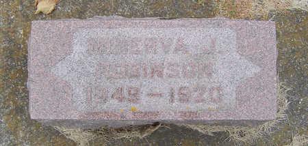 NOBLE ROBINSON, MINERVA J. - Delaware County, Iowa | MINERVA J. NOBLE ROBINSON