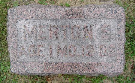 ROBINSON, MERTON S. - Delaware County, Iowa   MERTON S. ROBINSON