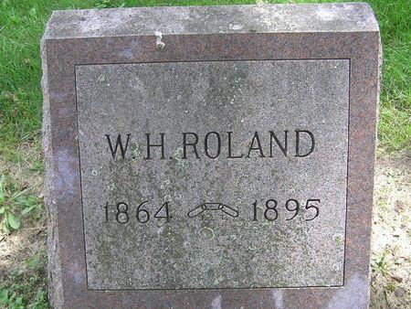 ROLAND, W.H. - Delaware County, Iowa | W.H. ROLAND