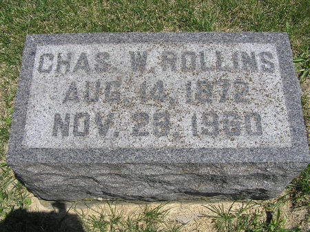 ROLLINS, CHAS. - Delaware County, Iowa | CHAS. ROLLINS
