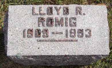 ROMIG, LLOYD R. - Delaware County, Iowa | LLOYD R. ROMIG