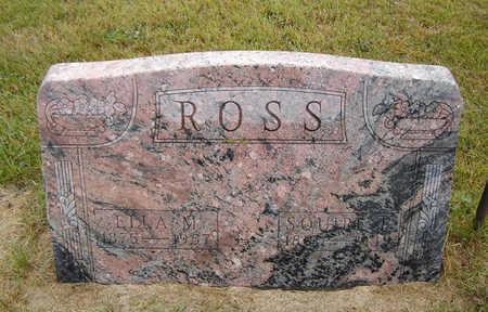 VANSICKLE ROSS, ELLA MAY - Delaware County, Iowa | ELLA MAY VANSICKLE ROSS