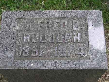 RUDOLPH, ALFRED - Delaware County, Iowa | ALFRED RUDOLPH