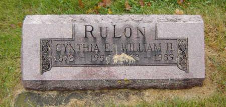 RULON, CYNTHIA E. - Delaware County, Iowa   CYNTHIA E. RULON