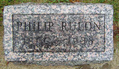 RULON, PHILIP - Delaware County, Iowa | PHILIP RULON