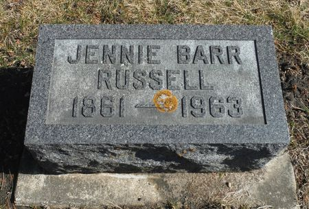 RUSSELL, JENNIE - Delaware County, Iowa | JENNIE RUSSELL