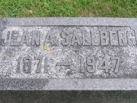 SALLBERG, JEAN A. - Delaware County, Iowa | JEAN A. SALLBERG