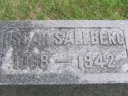 SALLBERG, OSCAR - Delaware County, Iowa | OSCAR SALLBERG