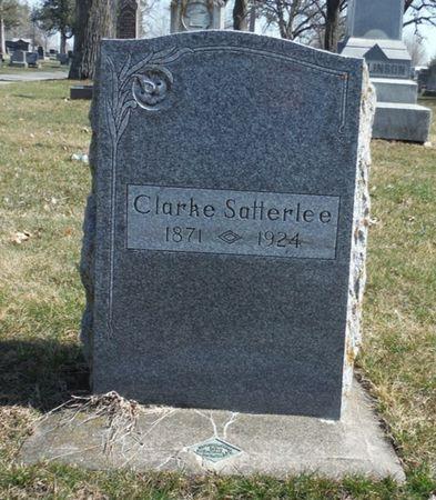 SATTERLEE, CLARKE - Delaware County, Iowa   CLARKE SATTERLEE