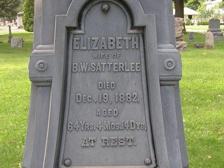 SATTERLEE, ELIZABETH - Delaware County, Iowa | ELIZABETH SATTERLEE