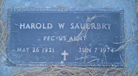 SAUERBRY, HAROLD W. - Delaware County, Iowa | HAROLD W. SAUERBRY