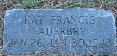 SAUERBRY, KAY FRANCIS - Delaware County, Iowa | KAY FRANCIS SAUERBRY