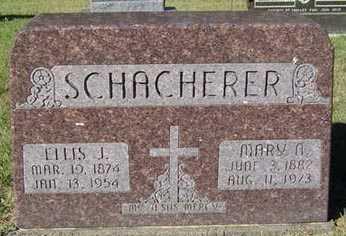 SCHACHERER, ELLIS J. - Delaware County, Iowa   ELLIS J. SCHACHERER