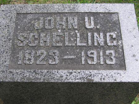 SCHELLING, JOHN U. - Delaware County, Iowa | JOHN U. SCHELLING