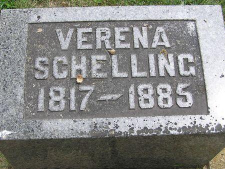 SCHELLING, VERENA - Delaware County, Iowa   VERENA SCHELLING