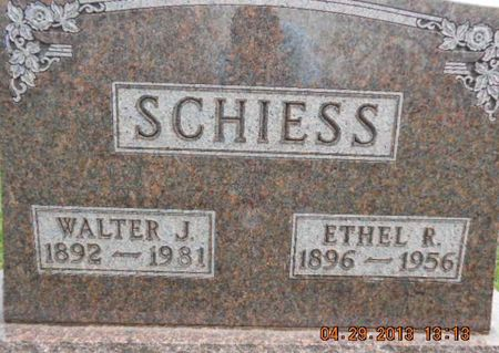 SCHIESS, ETHEL R. - Delaware County, Iowa | ETHEL R. SCHIESS