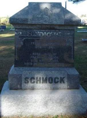 MARTIN SCHMOCK, ROSA - Delaware County, Iowa   ROSA MARTIN SCHMOCK