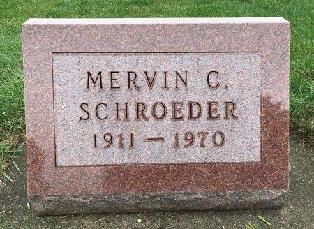 SCHROEDER, MERVIN CYRIL - Delaware County, Iowa | MERVIN CYRIL SCHROEDER