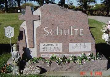 SCHULTE, MARVIN H. - Delaware County, Iowa   MARVIN H. SCHULTE