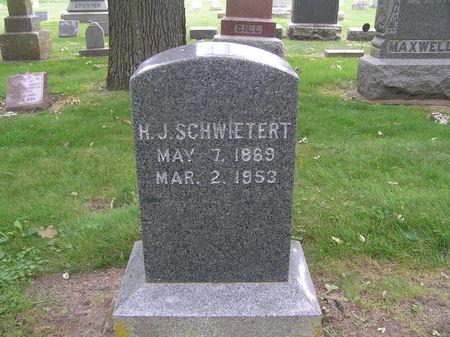 SCHWIETERT, H. J. - Delaware County, Iowa | H. J. SCHWIETERT