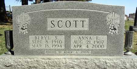 SCOTT, BERYL - Delaware County, Iowa | BERYL SCOTT