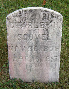SCOVEL, CHARLEY H. - Delaware County, Iowa   CHARLEY H. SCOVEL