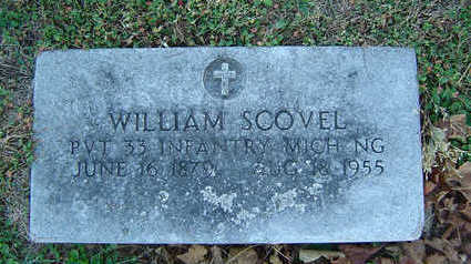 SCOVEL, WILLIAM - Delaware County, Iowa | WILLIAM SCOVEL