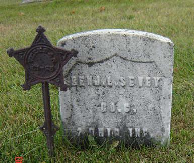 SEVEY, BENJ. L. - Delaware County, Iowa | BENJ. L. SEVEY