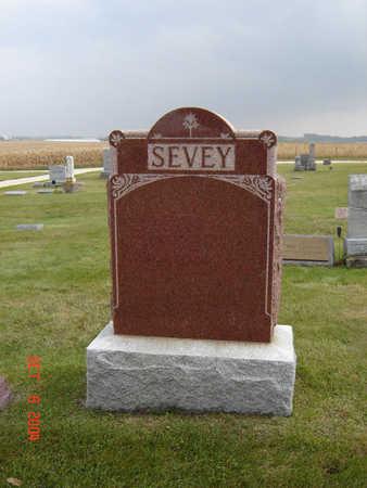 SEVEY, FAMILY MONUMENT - Delaware County, Iowa   FAMILY MONUMENT SEVEY