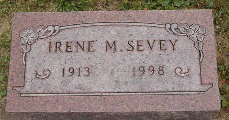 GLEASON SEVEY, IRENE M. - Delaware County, Iowa | IRENE M. GLEASON SEVEY