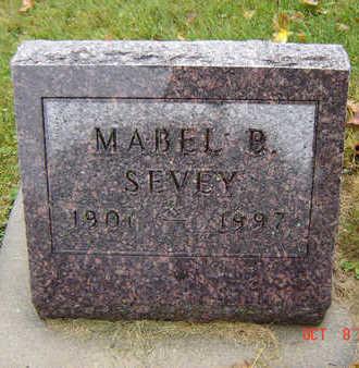 BEYER SEVEY, MABEL BERTHA - Delaware County, Iowa | MABEL BERTHA BEYER SEVEY