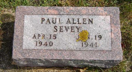SEVEY, PAUL ALLEN - Delaware County, Iowa | PAUL ALLEN SEVEY