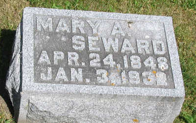 ANNIS SEWARD, MARY ADELAIDE - Delaware County, Iowa | MARY ADELAIDE ANNIS SEWARD