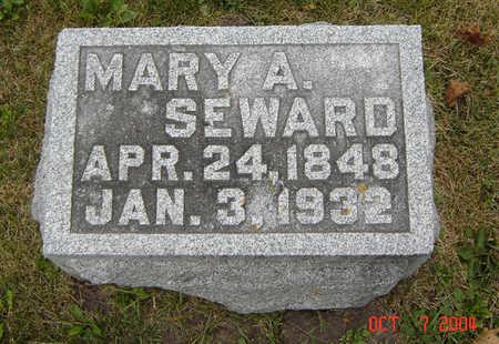 SEWARD, MARY A. - Delaware County, Iowa | MARY A. SEWARD