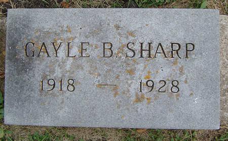 SHARP, GAYLE B. - Delaware County, Iowa | GAYLE B. SHARP